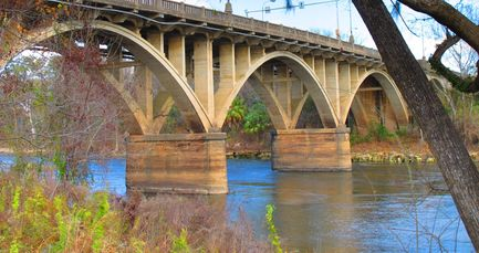 Flint River Memorial Bridge, Albany, Ga.