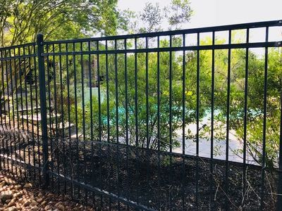 Pool fencing in College Station