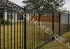 Wrought iron fence in College Station