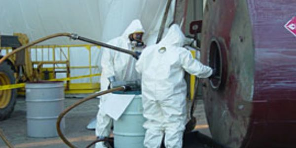 Paint Tank Cleaning IBC Cleaners