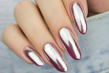 Chrome Gel Nails
