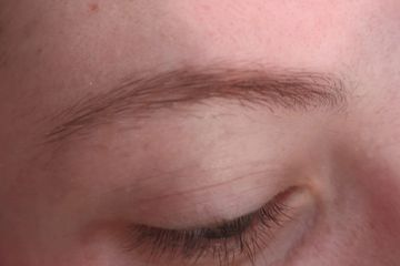 Before Henna Brows and Waxing