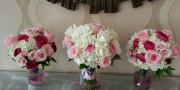 flowers for bridal party