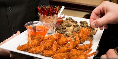 catering events caterers new jersey hors d'oeuvres venues new jersey