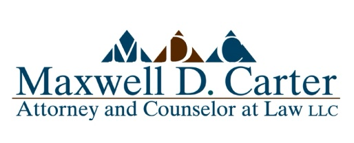Maxwell d. carter  ATTORNEY & COUnselor AT LAW LLC