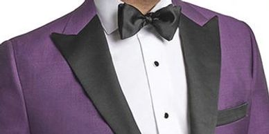 Men's formal wear Custom Formal Wear Tuxedo Suits Dinner Jackets Purple Tuxedo Jacket Custom Tailor