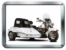 Classic and Conte Classic Sidecars sold by Pair-a-Dice Trikes