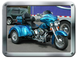Roadmaster Harley-Davidson HDST Trike kit sold by Pair-a-Dice Trikes