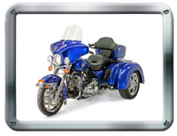 Roadsmith HDT-R Trike Kit available from Pair-a-Dice Trikes