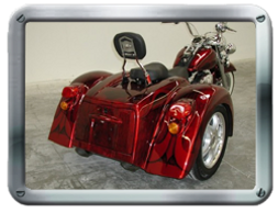 Champion Softail Trike kit sold by Pair-a-Dice Trikes