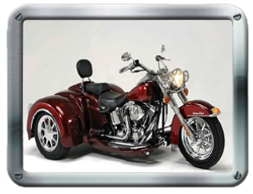 CSC Volusia Harley-Davidson Trike kit sold by Pair-a-Dice Trikes