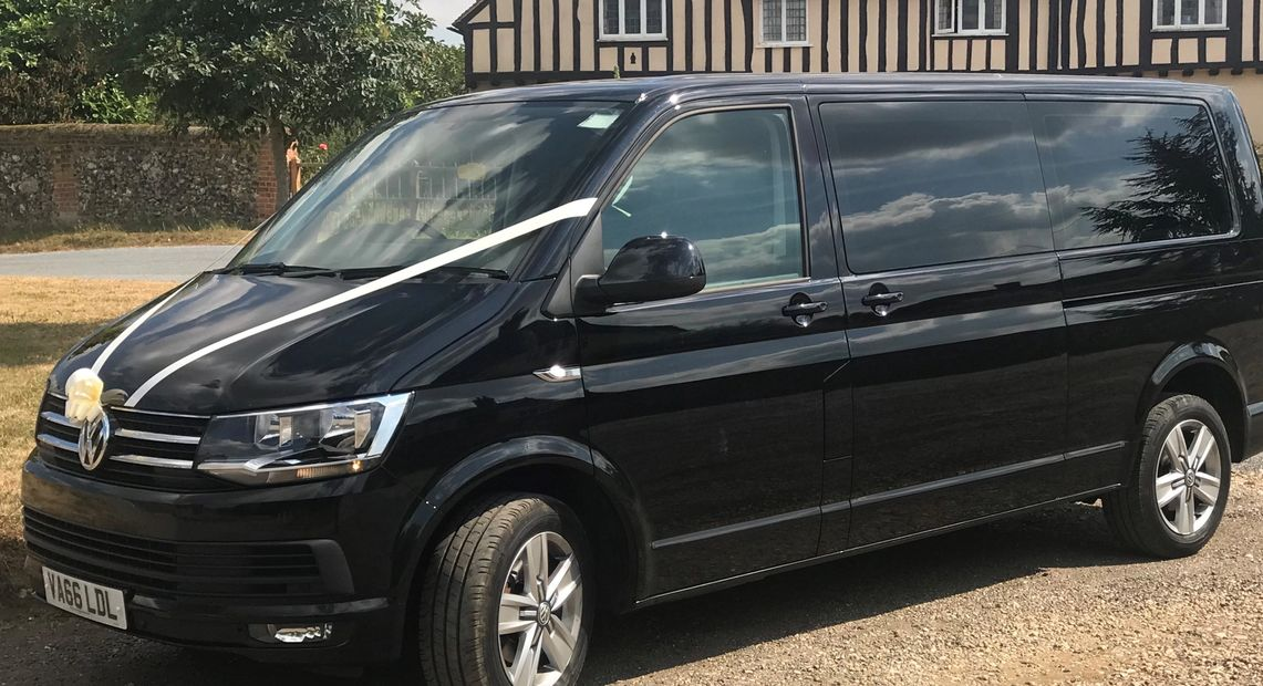 1-8 passengers, wedding transport, airport transfers, London theatre trips, nights out, corporate