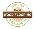 Certified Wood Flooring Professional by NWFA
