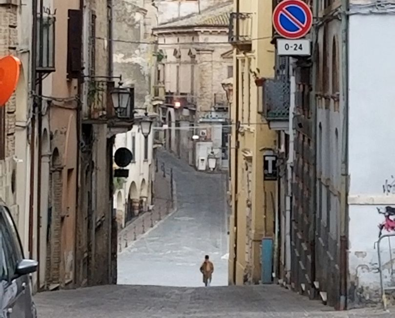 Lanciano and the Jewish ghetto. Archives have demonstrated Jews present here since the high Middle Ages.  Photo by Matthew Larcinese