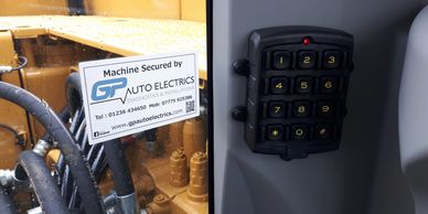 Plant Security Keypad Immobiliser
