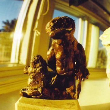 RICHARD A  POSA - Wood, Sculpture