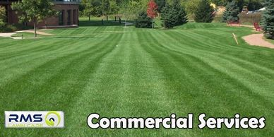 Our Commercial Services Example of a corporate lawn care customer in Chesterfield, Missouri