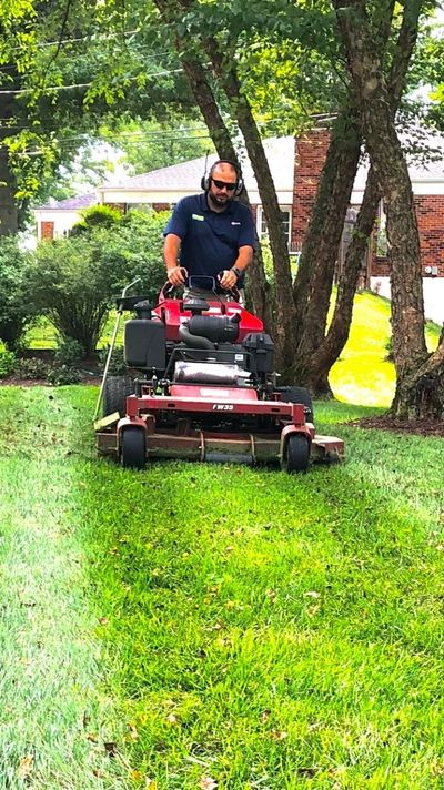 Our crew uses the highest quality equipment for lawn maintenance