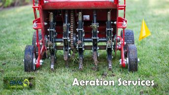 We do Aeration Services for a residential and commercial clients in St. Louis Metro