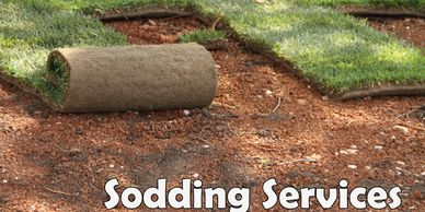 We handle SODDING SERVICES for commercial and residential clients in St. Louis Metro