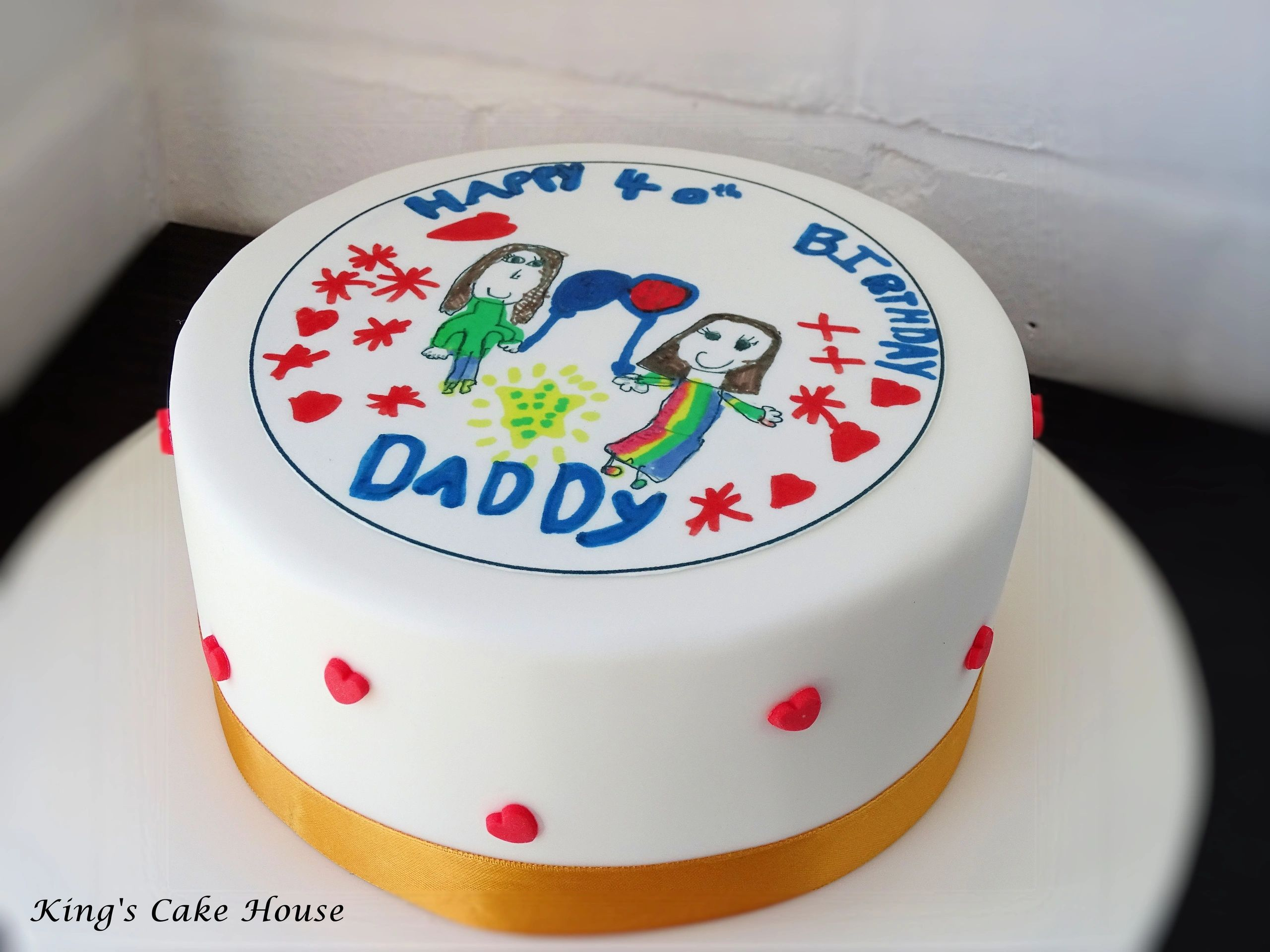 Excellent Cake Toppers Delivered Kings Cake House Funny Birthday Cards Online Inifodamsfinfo