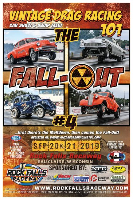 Fall-Out | Vintage Drag Racing 101