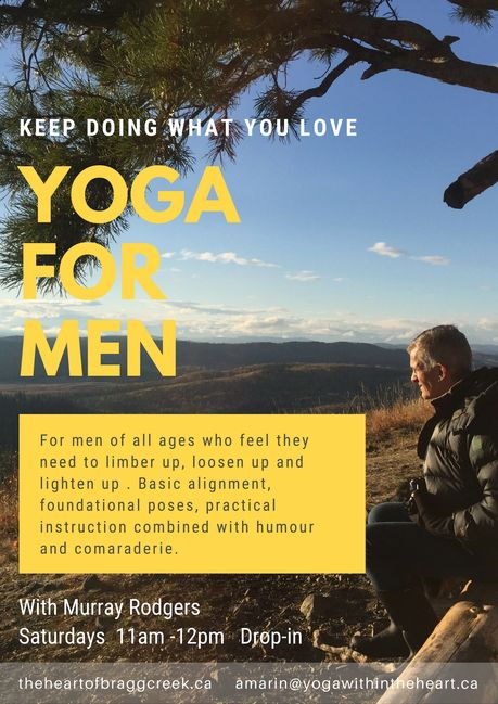 yoga, men, bragg creek, men's yoga, calgary, calgary yoga