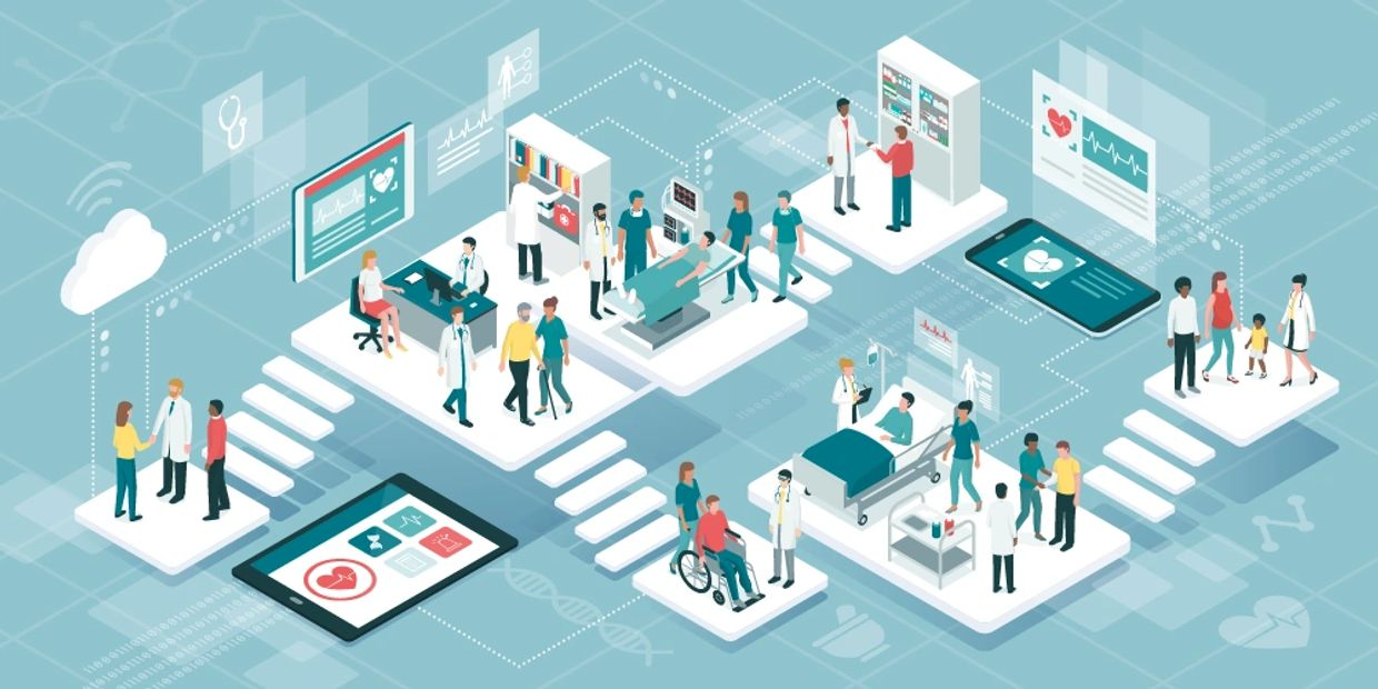 IOT in Healthcare.  Technology is constantly making healthcare more accessible, more precise, and mo