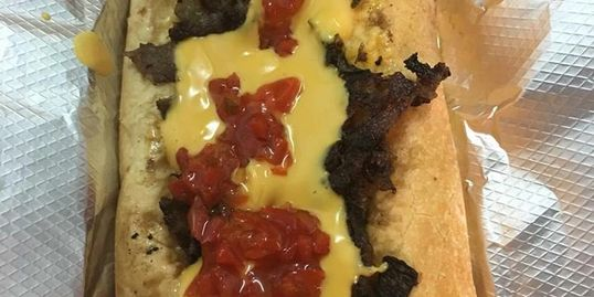 Philly Cheesesteak:  Our Signature Sandwich!