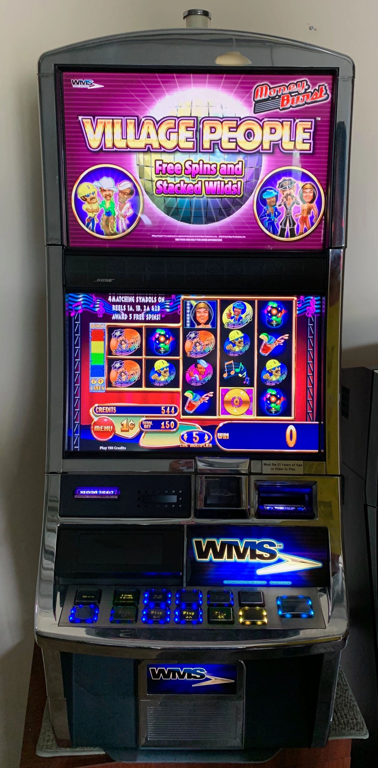 List of wms slot machines clearing hands casino games