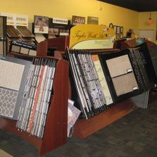 Our showroom floor showing Carpet and flooring options in Iowa City, Cedar Rapids, Coralville areas