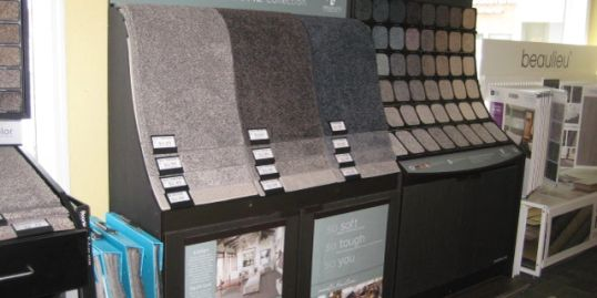 Carpet and Flooring products and installation options