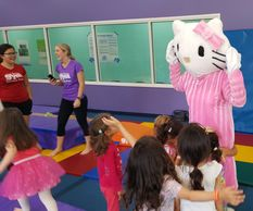 Have some fun with this furry pal. Available for your Houston Birthday Party with theme games & fun