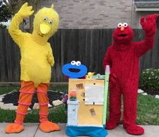 Rent these mascot for great costumes & games that relate to the show. Dance, sing & play w/ friends.
