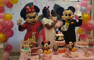 These mascot mice love fun, invite them to your Houston Birthday Party. Great costumes & great games