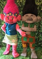 Hire these troll mascot party characters for your child's Houston birthday  event with fun and games