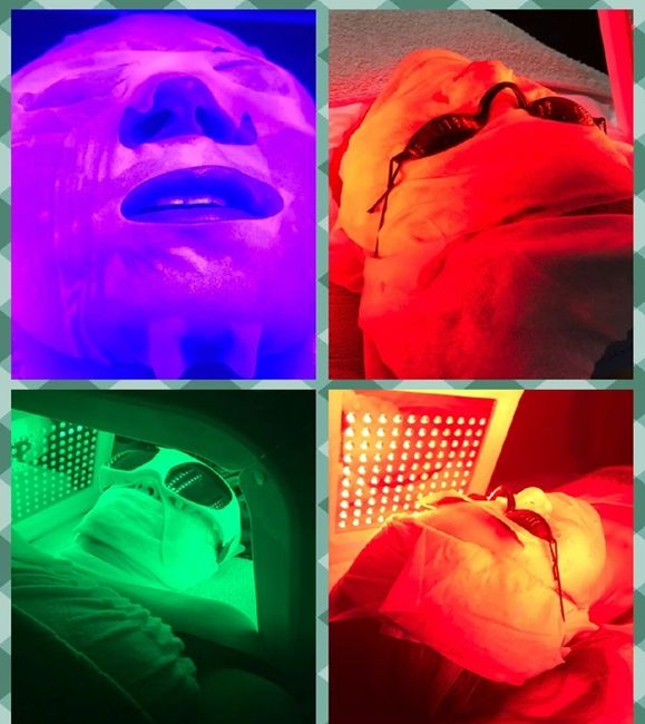 Light Therapy; ask our professional which Ultraviolet Light is suitable for for Skin needs.