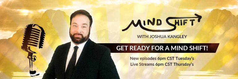 Mind Shift With Joshua Kangley. New inspirational talk show on YouTube.  #mindshiftwith