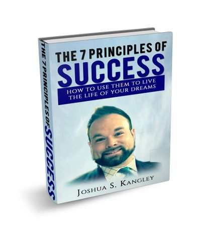 The 7 Principles of Success by Joshua Kangley.  #mindshiftwithjosh #theprinciplesofsuccess