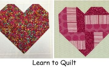 Learn to quilt class, Thursday, Feb 6