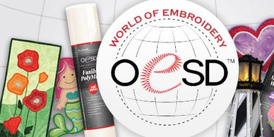 Sign up for our OESD World of Embroidery Event, Sept 20 or 21.