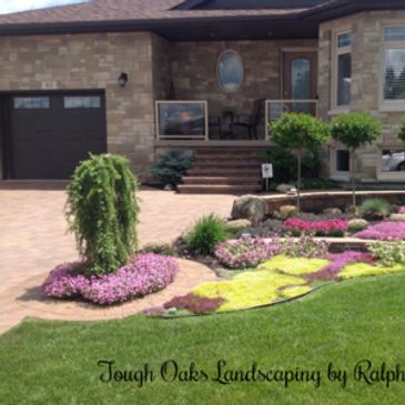 garden design  Barrie Landscaping Services  Tough Oaks  Landscaping  Company in Barrie  driveway