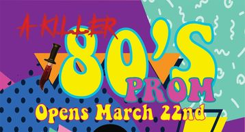 A 80's style murder mystery back by popular demand at Playhouse Boise