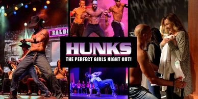 Hunks Male Review @ Playhouse Boise