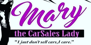 mary car sales lady