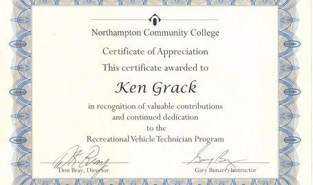 Ken Grack Mobile Rv Repair Service
