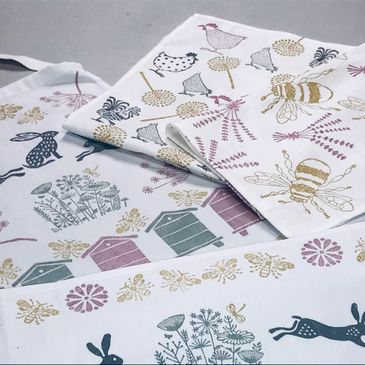 Mothers day Children's craft courses fabric printing Harpenden