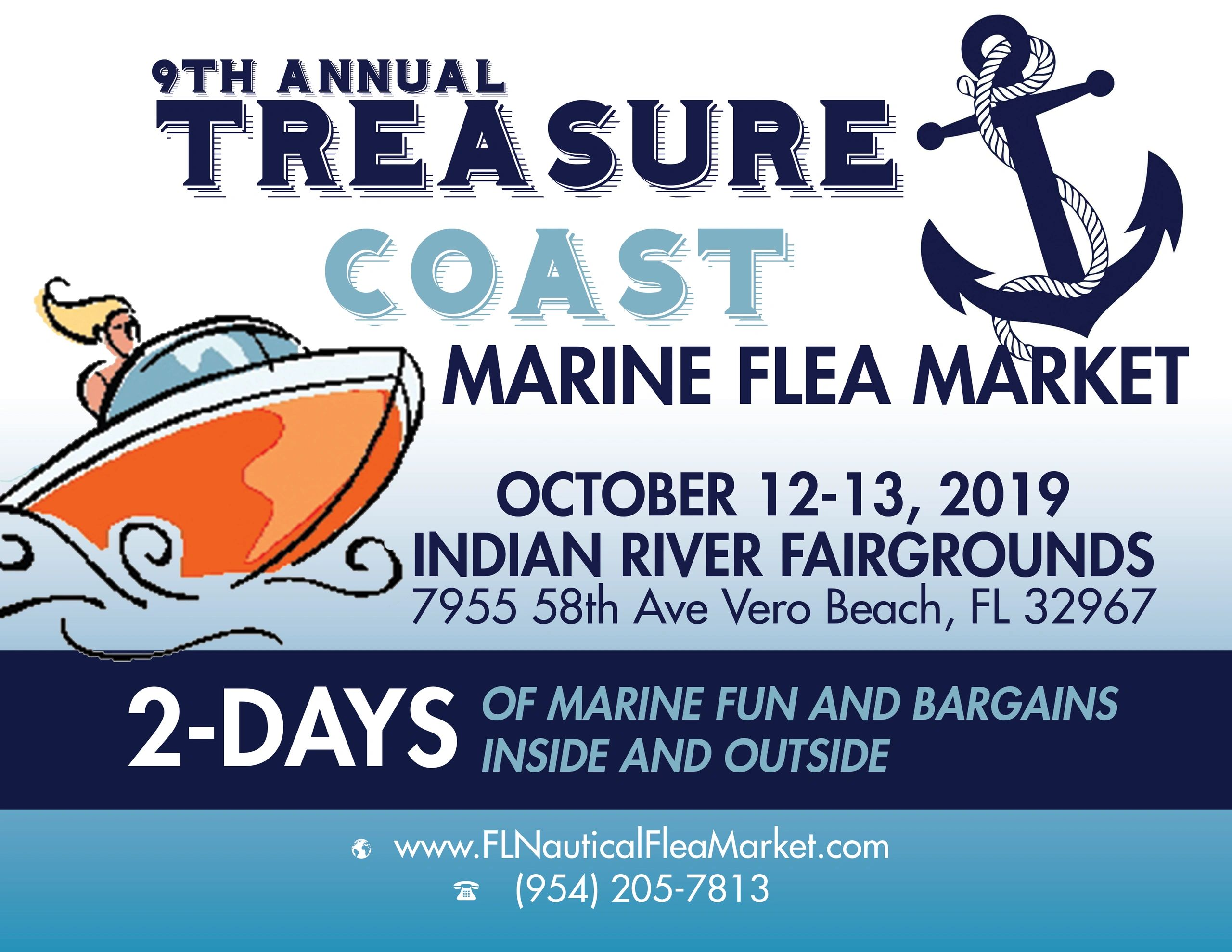 Treasure Coast Marine Flea Market and Boat Show Returns to Vero