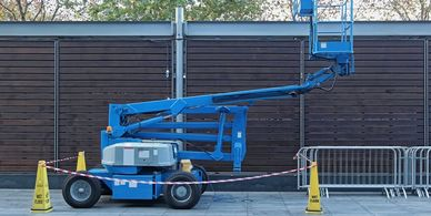 Genie Boom training Aerial Work Platform  Elevated Work Platform  Self-Propelled Work Platform