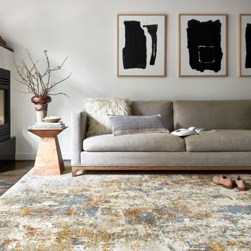 LAN-03 Multi Design; Landscape Collection; Contemporary Style Rugs; Power-Loomed